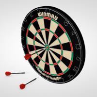 dartboard dart c4d