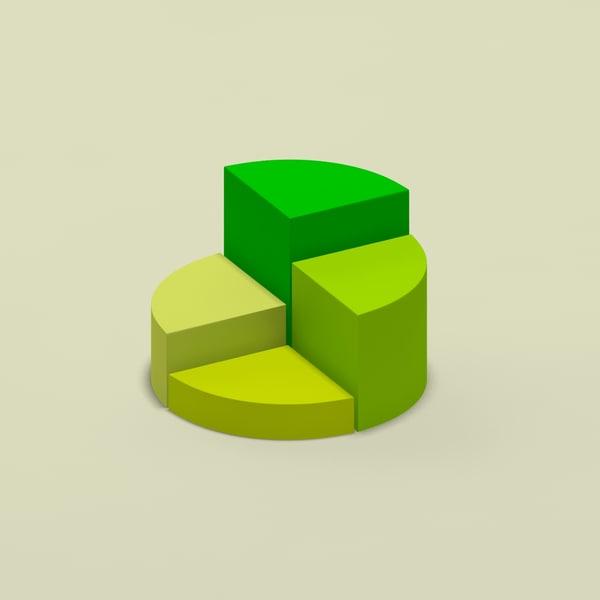 3d model of chart