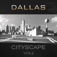 dallas city buildings 3ds