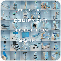 medical equipment 36 1 3d model