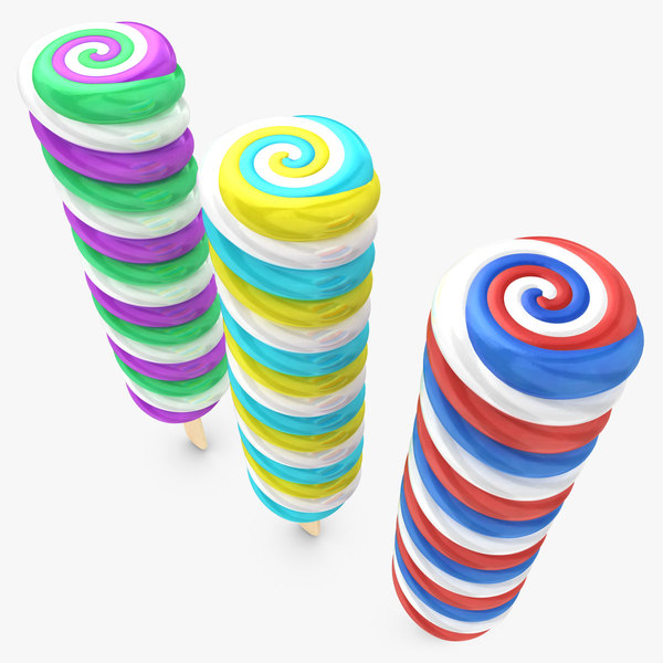 cyclone popsicle 3 colors 3d 3ds