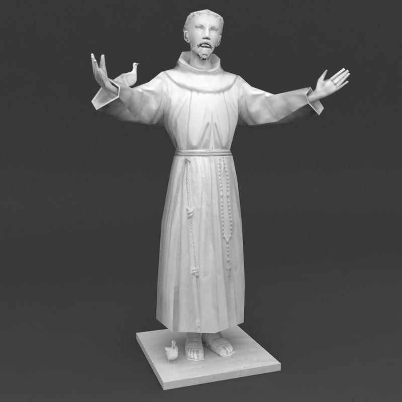 saint francis statue max
