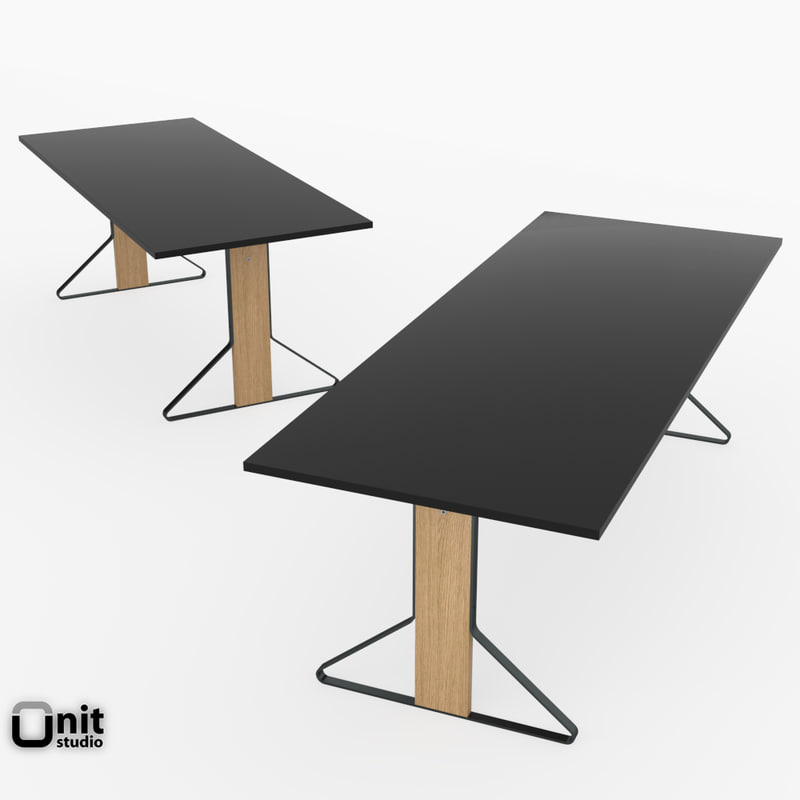 reb 001-002 kaari table 3d model