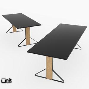 reb 001-002 kaari table 3d model