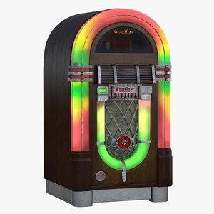 3d model jukebox 2 modeled