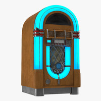 jukebox 2 generic 3d model