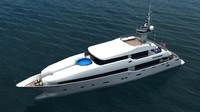 yacht masteka 3d model