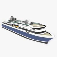 Passenger Ferry - Ro-Ro Vessel