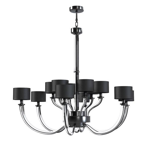 donghia fontana chandelier 3d 3ds