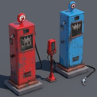 3ds gas old pump