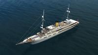 vintage yacht x