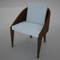 3d model chair clasic