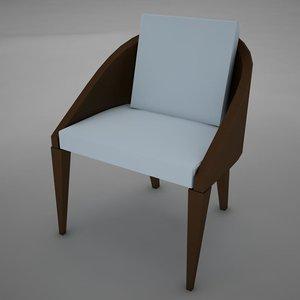 3d model chair clasic