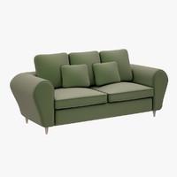 sofa lazzoni 3d model
