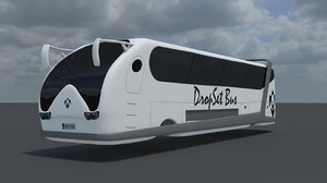 modeled bus 3d model