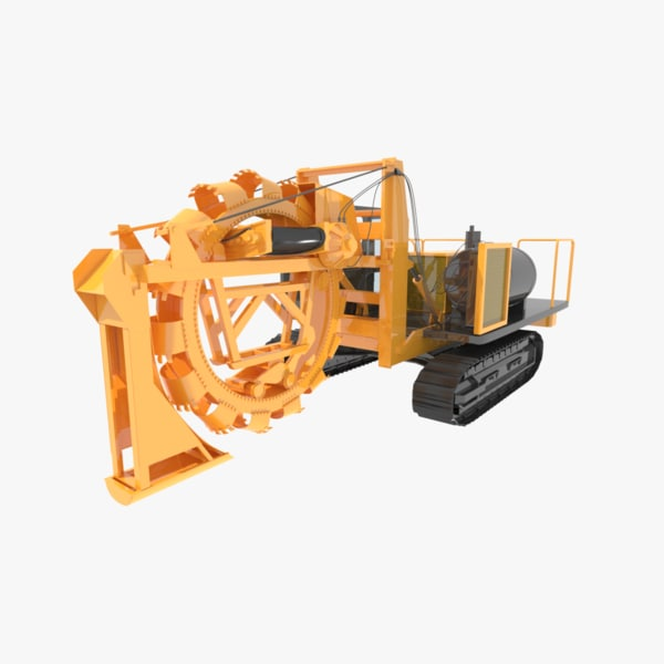 3d trencher trenches heavy wolfe