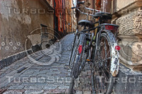 Bicycles in Gamla Stan