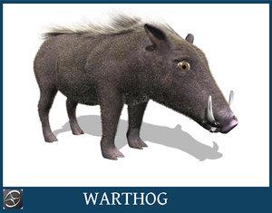 obj warthog hog
