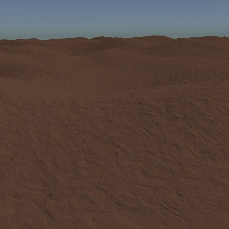 blend dirt terrain
