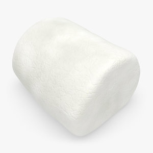realistic marshmallow white 3d max