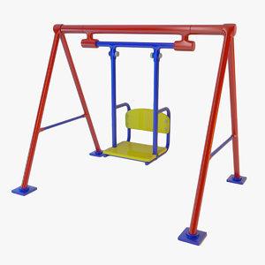 3d model swing