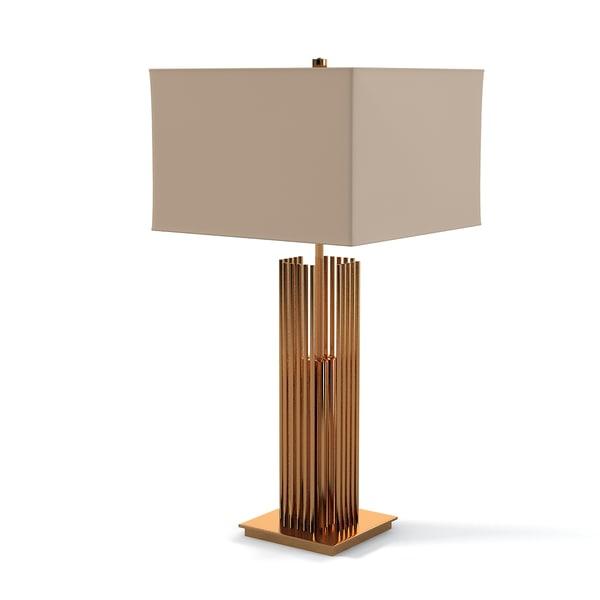 3d model donghia stoa table