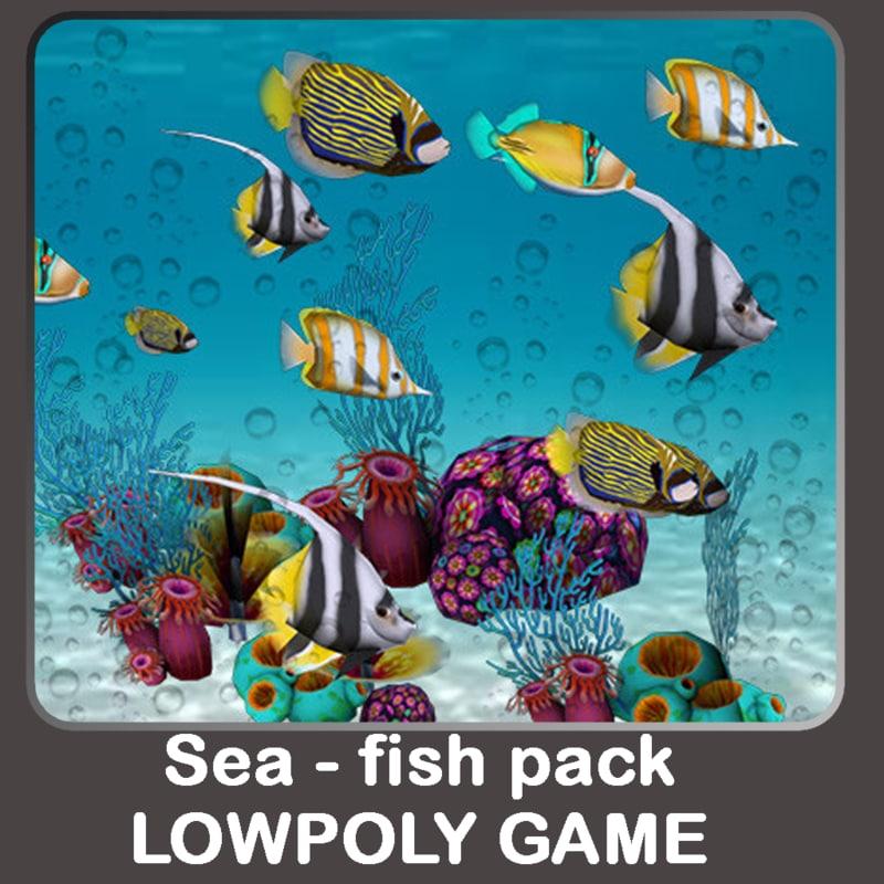 sea fish fbx