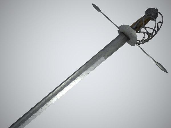 medieval sword max