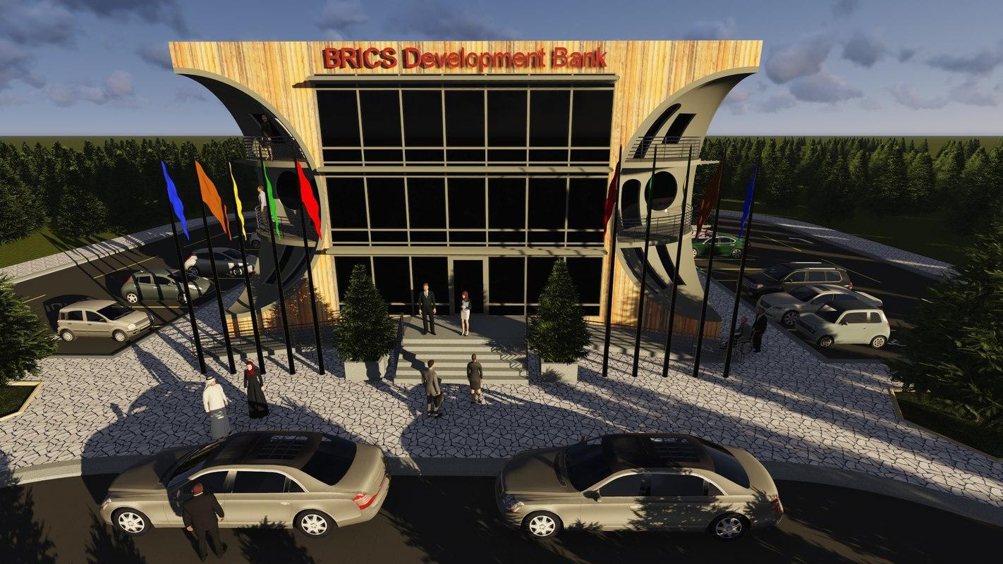 3d brics development bank model