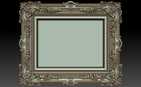 decorative frame 3d model