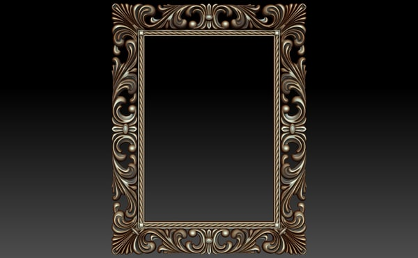 decor frame 3d model