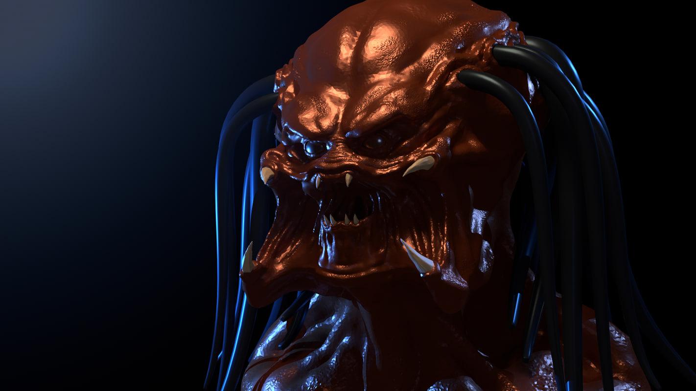 free blend mode head predator