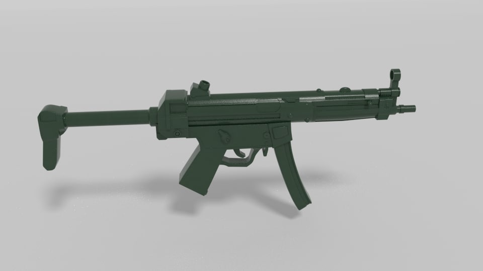 3ds mp5 gun