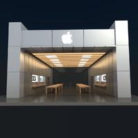 Apple Store 3D Model V3