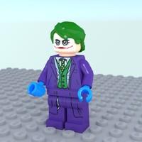 joker lego obj