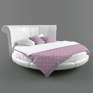 3ds max bed kent letto