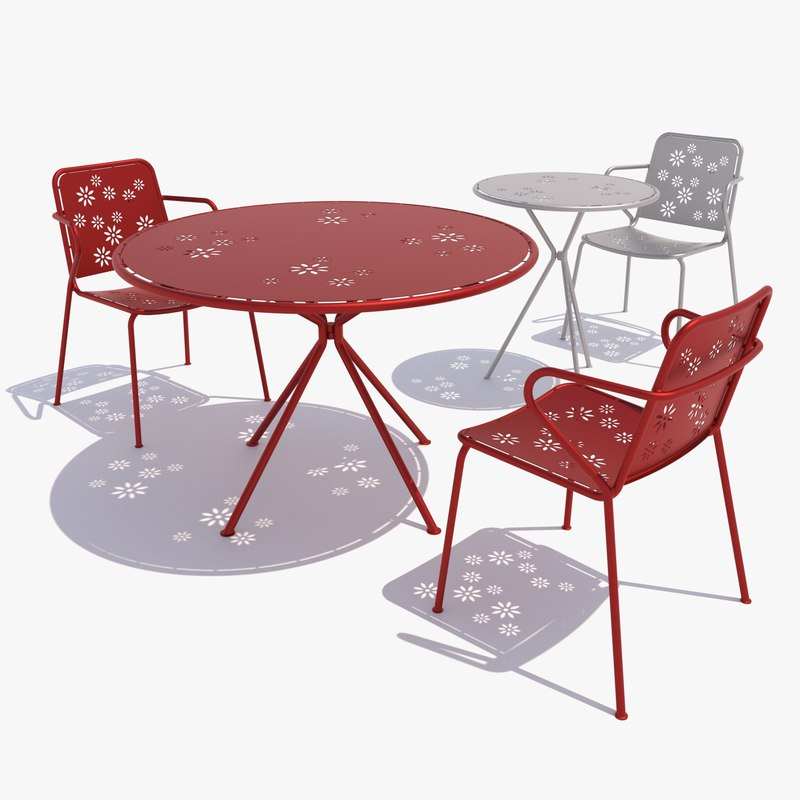 Outdoor furniture unopiu happy 3d max for Outdoor furniture 3d max