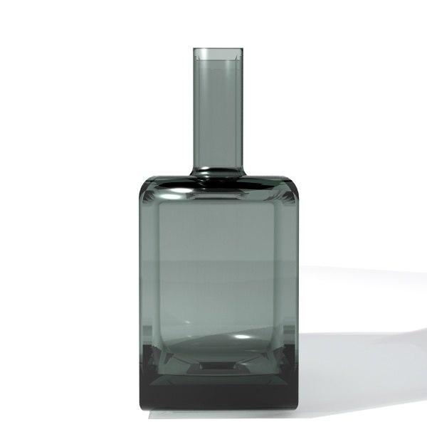 3d bottle green model