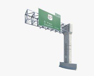 highway sign max