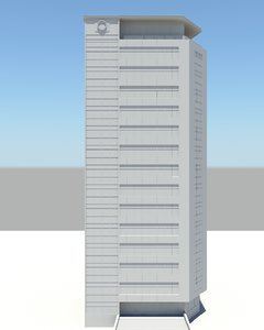 office building 3d ma