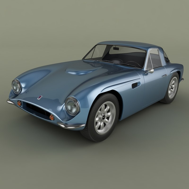 3d model tvr griffith series 200