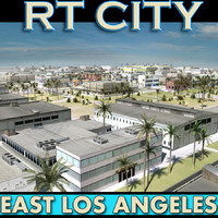 East Los Angeles Stylised_Skyline