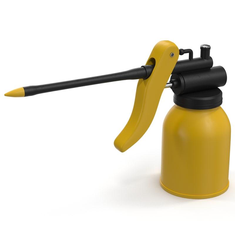 3d model oil 3 modeled