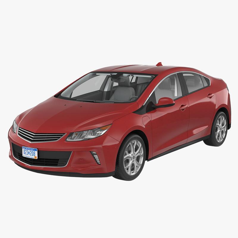 3ds max generic hybrid car