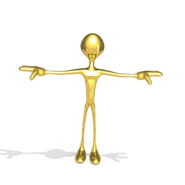 gold person max