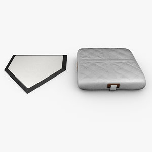 baseball base home plate 3ds