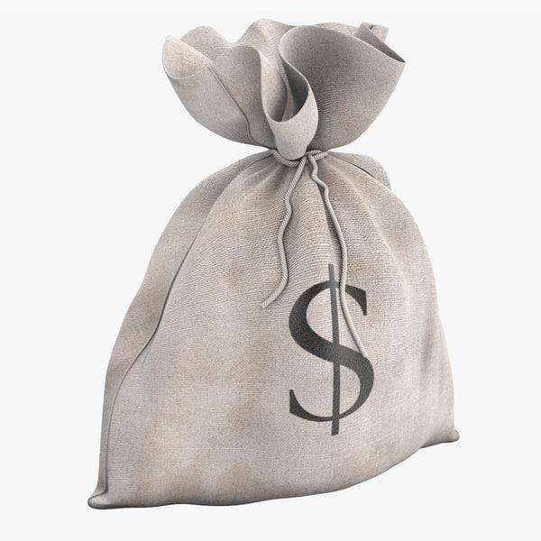 3ds money bag