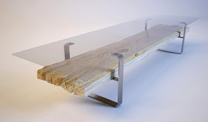 free design table 3d model