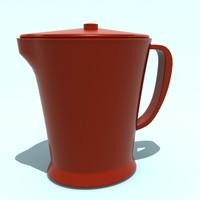 3d model plastic jug