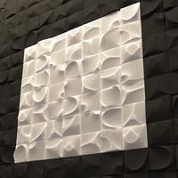 Cork 3d panel